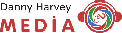 Danny Harvey Media Retina Logo